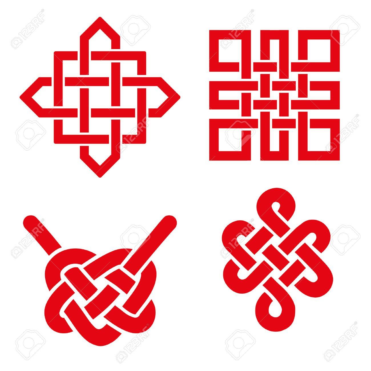 Endless Auspicious Knot Set Chinatibet Eternal Buddhism