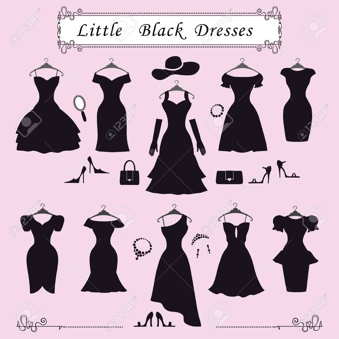 Estilos De Moda Dress.Different De Pequeños Vestidos De Fiesta Negro ...