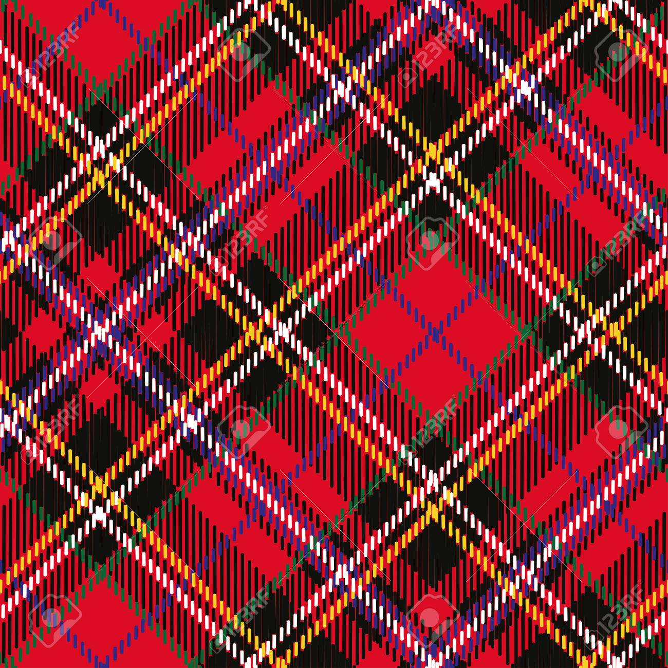 60108542 tartan plaid seamless pattern diagonal background wallpaper wrapping paper and textile retro style f