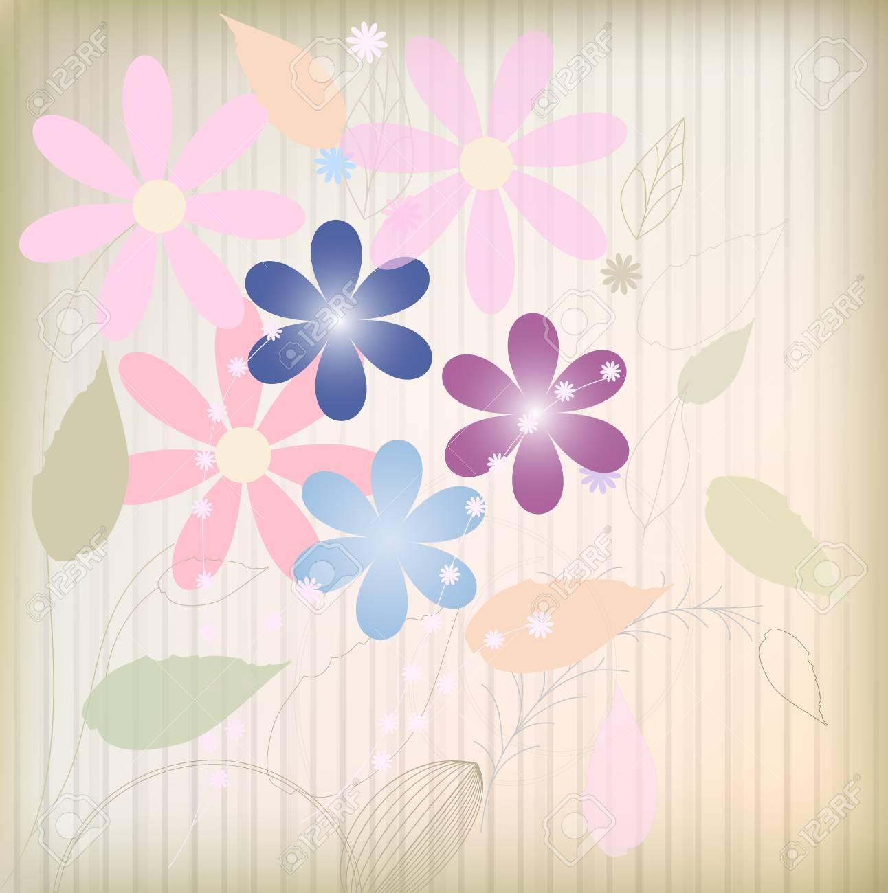 Flower background Stock Vector - 14378665