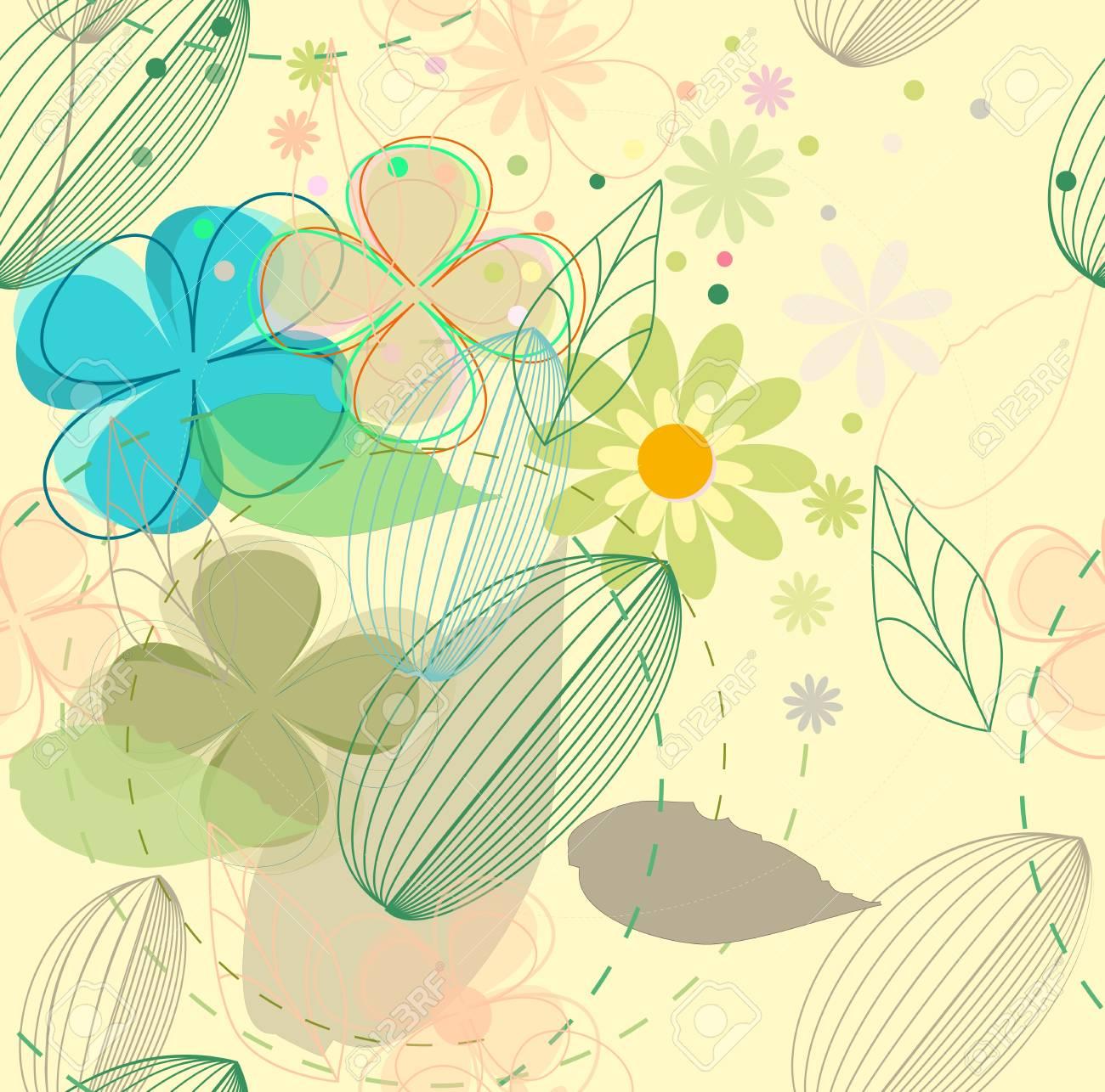 Flower background Stock Vector - 14387879