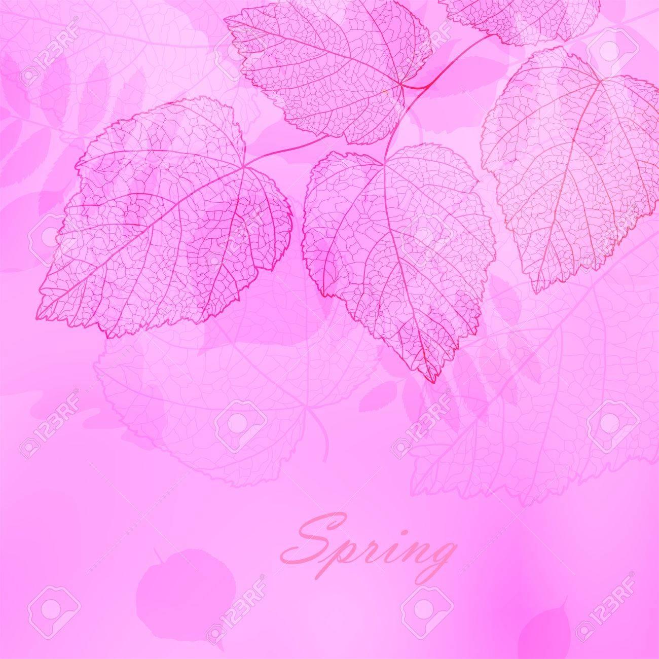 春のイラスト壁紙