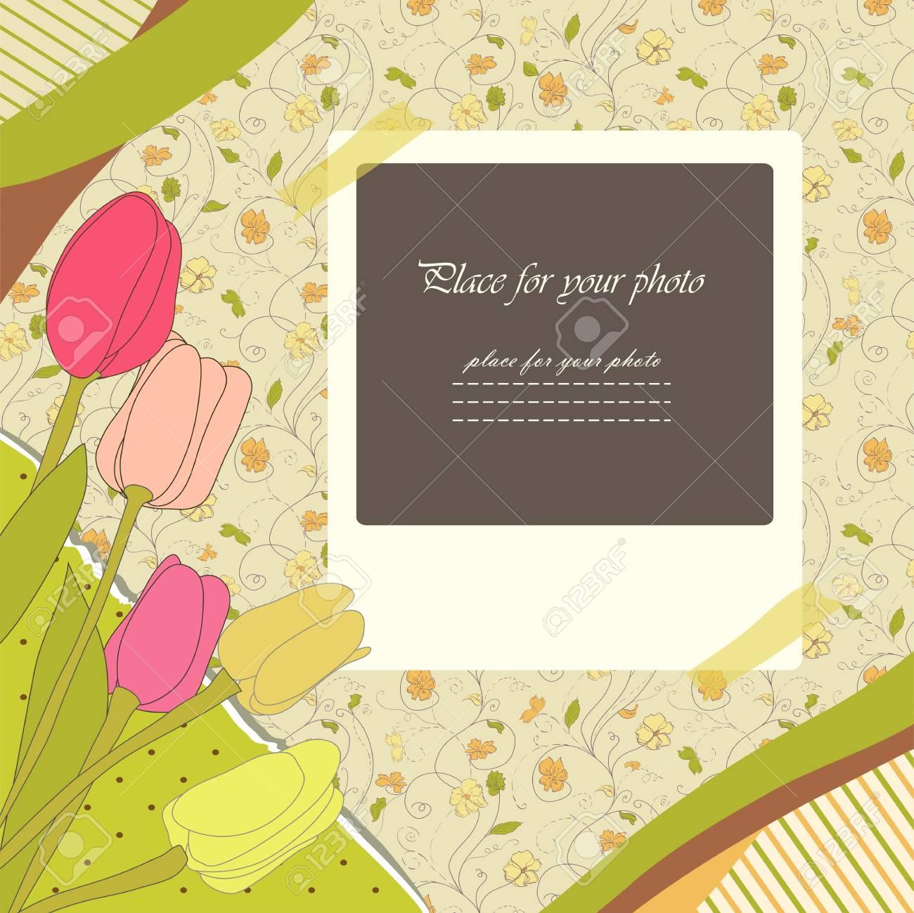 Abstract banner retro card Stock Vector - 14875907