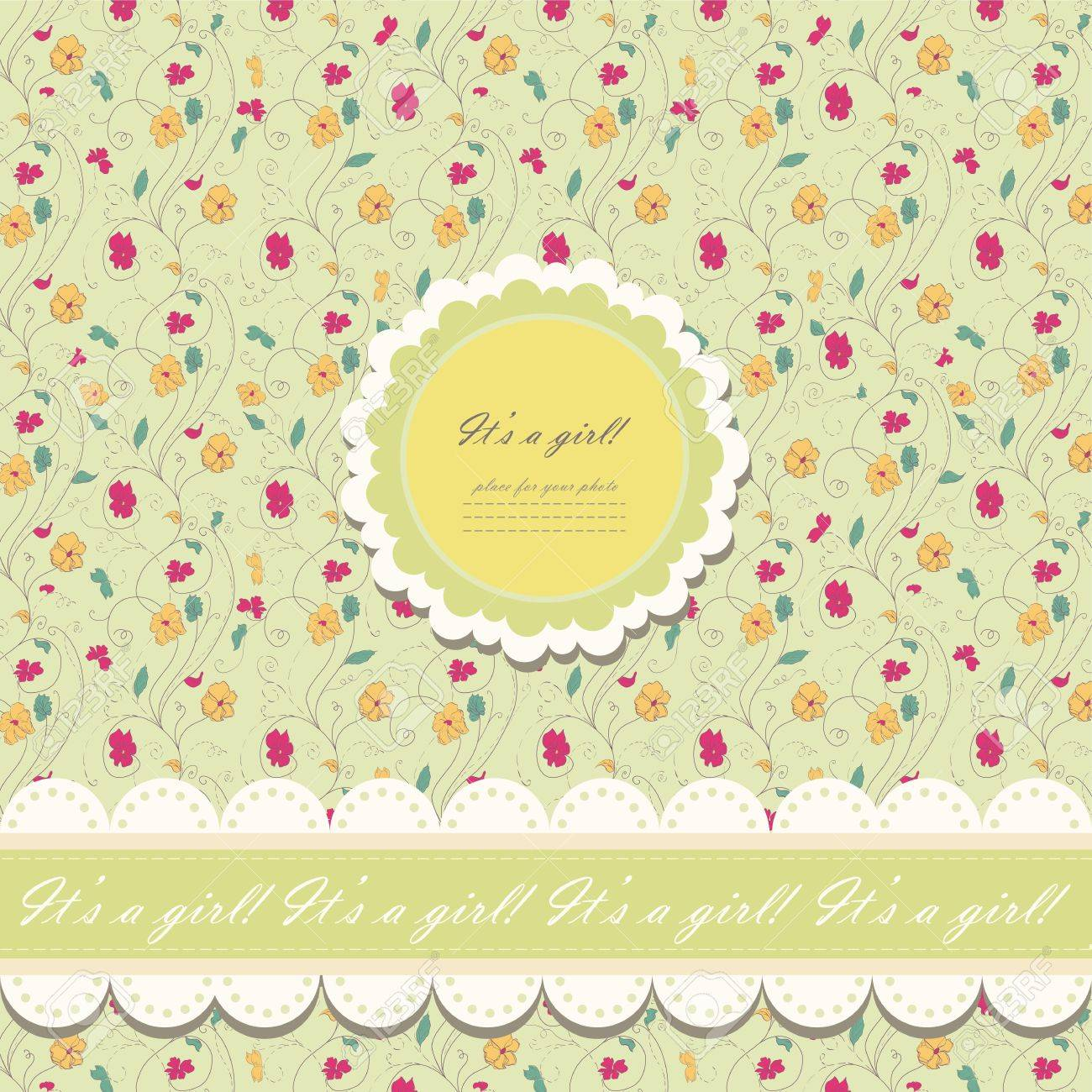 Romantic yellow scrapbooking with text for invitation greeting romantic yellow scrapbooking with text for invitation greeting happy birthday label postcard stopboris Image collections