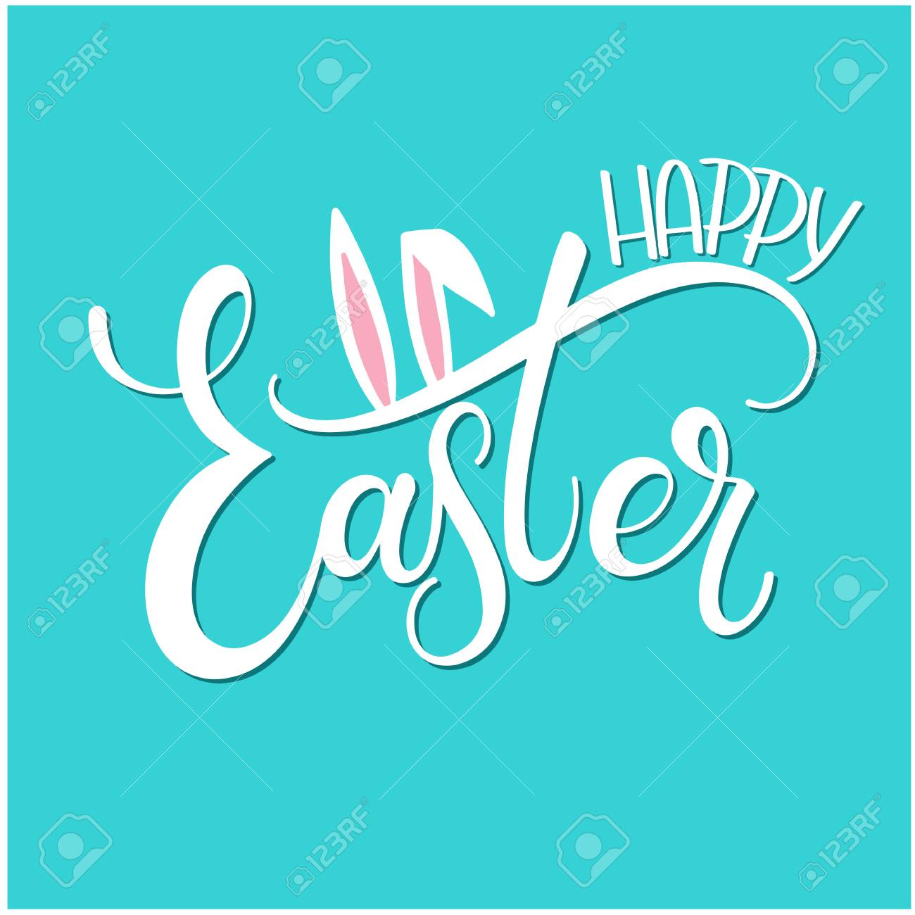 Happy easter colorful lettering hand written easter phrases happy easter colorful lettering hand written easter phrases seasons greetings stock vector 97308401 m4hsunfo