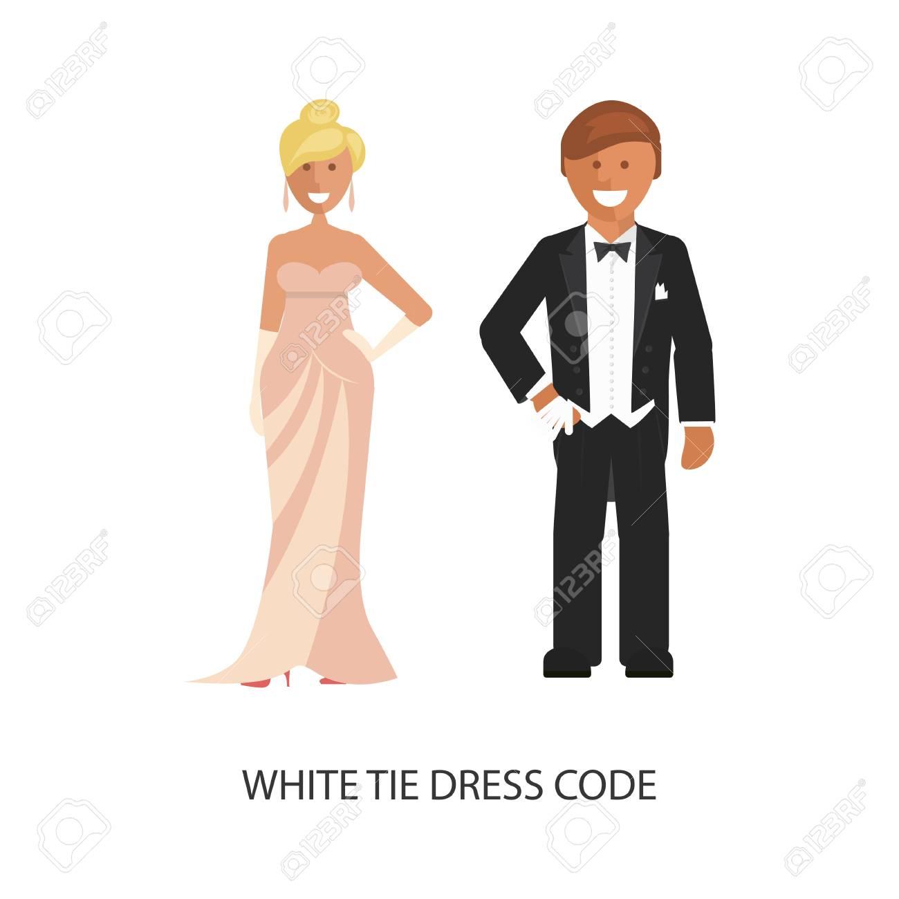 Weiße Krawatte Kleiderordnung. Lizenzfreie Fotos, Bilder Und Stock ...