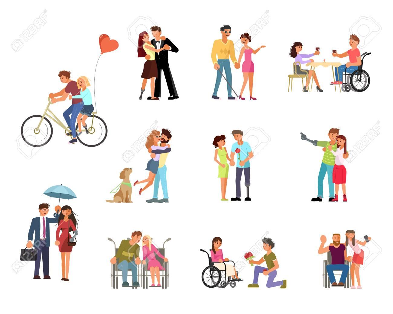 Types of love relationships between people