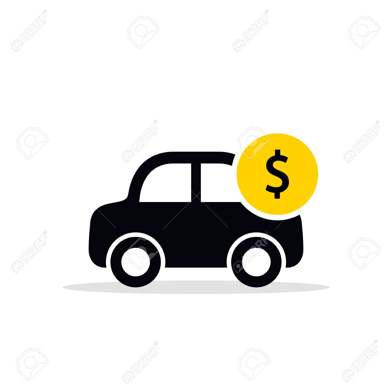 Image result for save money on a car clip art