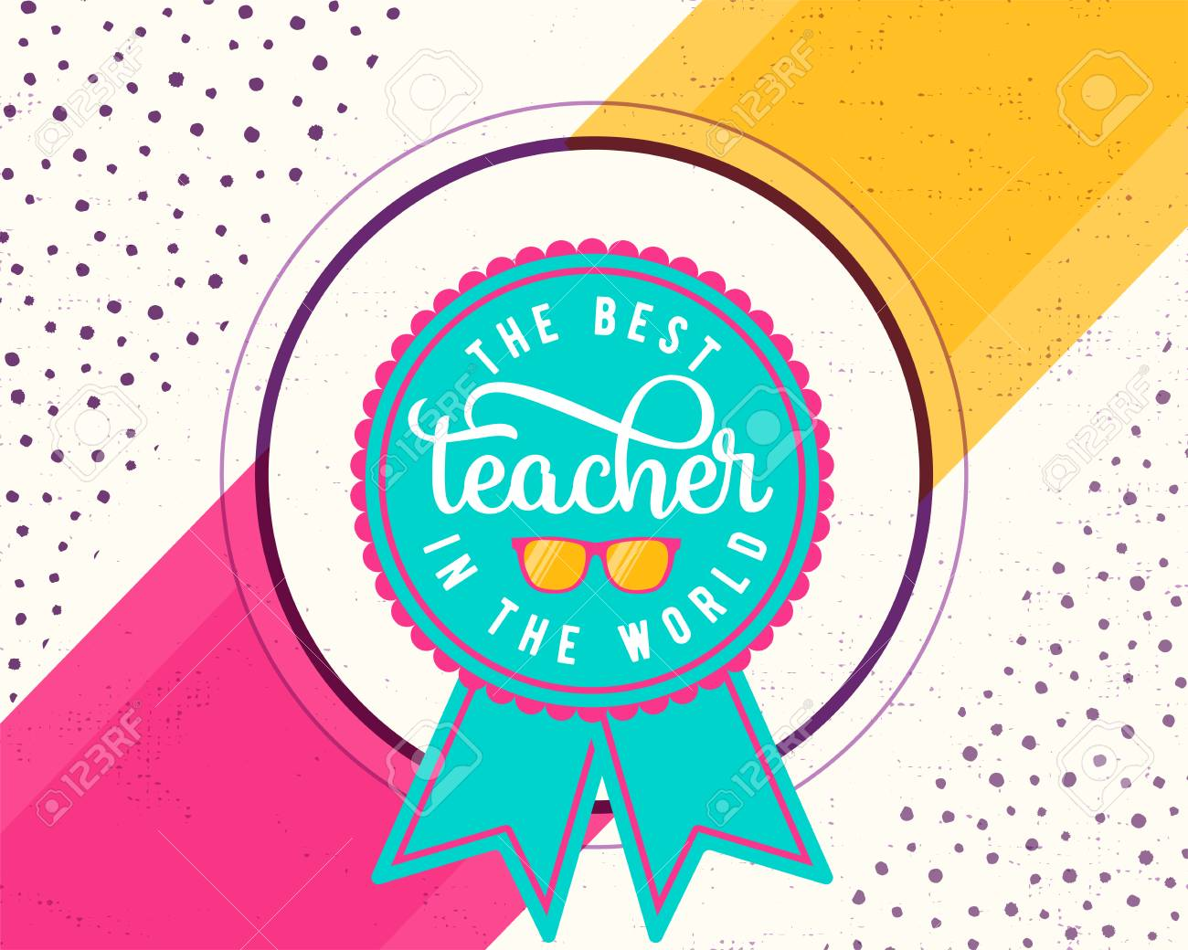Vector illustration of happy teachers day greeting design for vector illustration of happy teachers day greeting design for print card stock vector kristyandbryce Choice Image