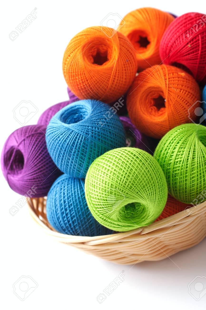 Basket for needlework 80