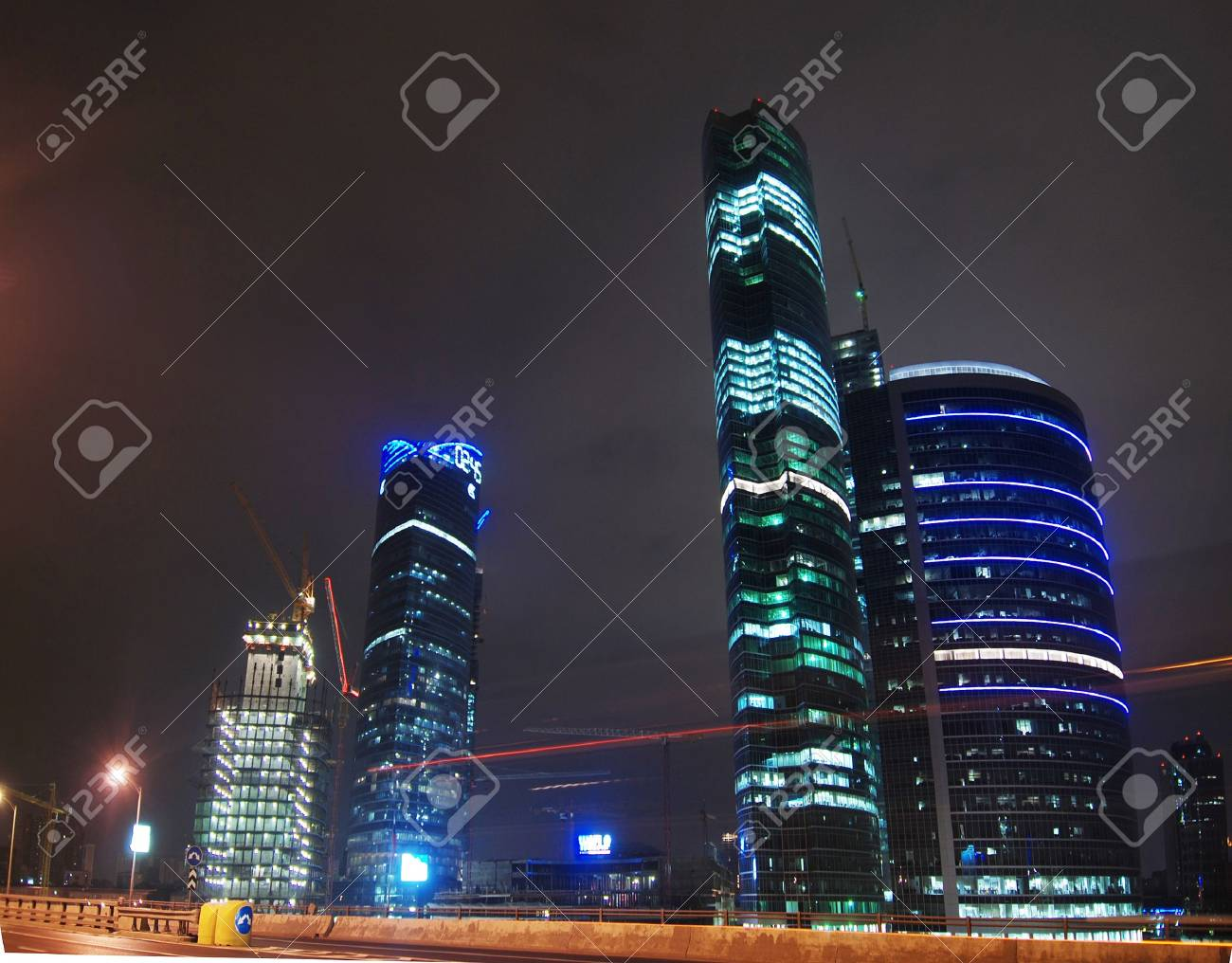 Evening city, Moscow, Russia Stock Photo - 3764508