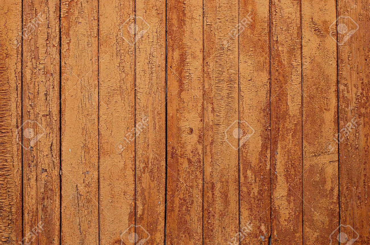 Old wall, wooden planks - texture Stock Photo - 4321544