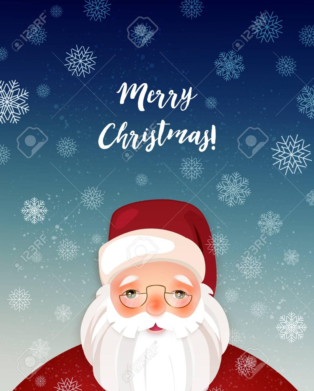 Foto Di Natale Neve Inverno 94.Personaggio Dei Cartoni Animati Mostrando Illustrazione Di Buon Natale Di Inverno Con I Fiocchi Di Neve Xmas Poster