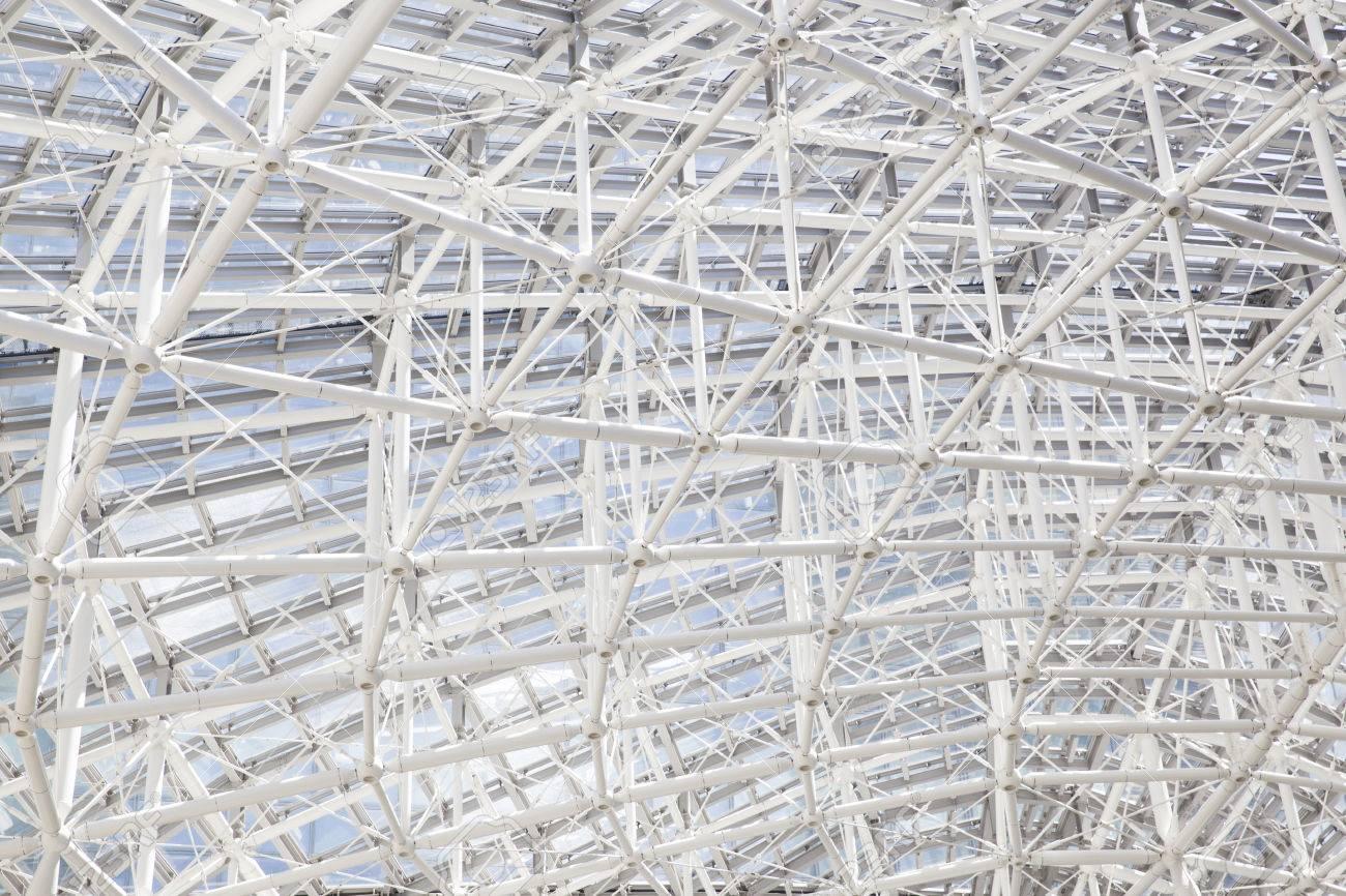 Gebäude Konstruktion Metall Steel Rahmens Outdoors Lizenzfreie Fotos ...