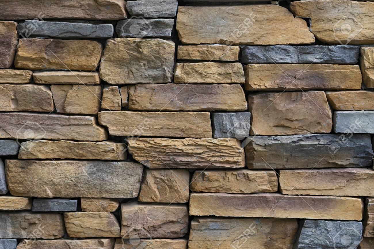 stone wall texture and background, close up - 149112946