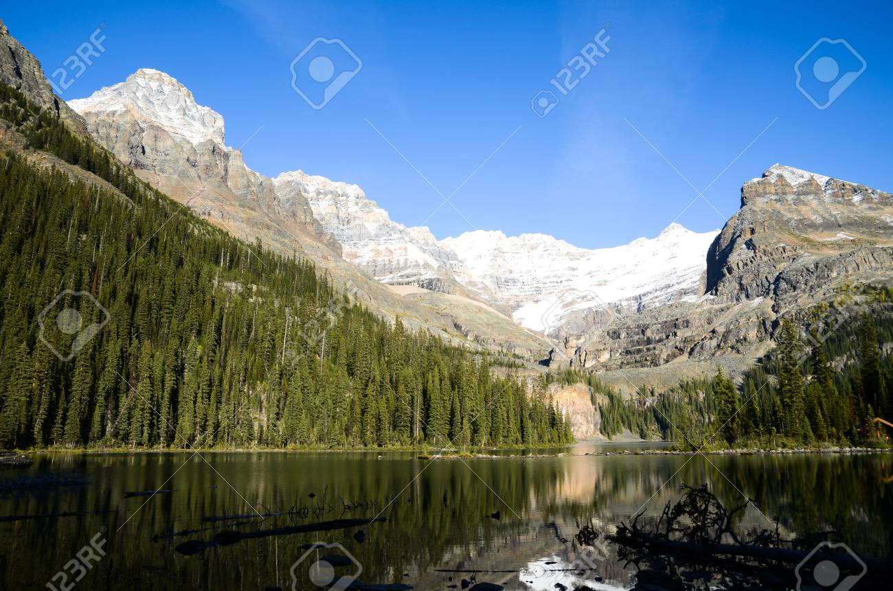 Landscape 10x12 FT Photo Backdrops,Canada Ohara Lake Yoho National Park with Mountains Nature Scenery Art Photo Background for Photography Kids Adult Photo Booth Video Shoot Vinyl Studio Props