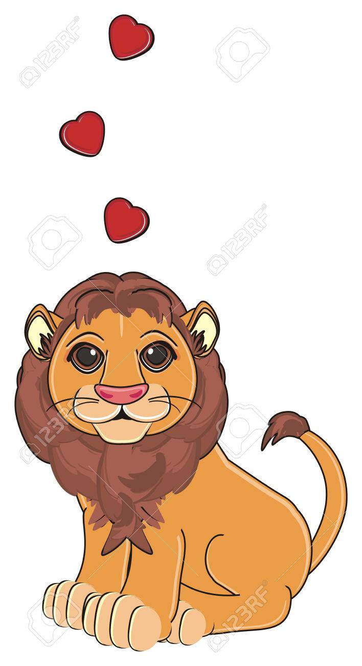 a lion in love