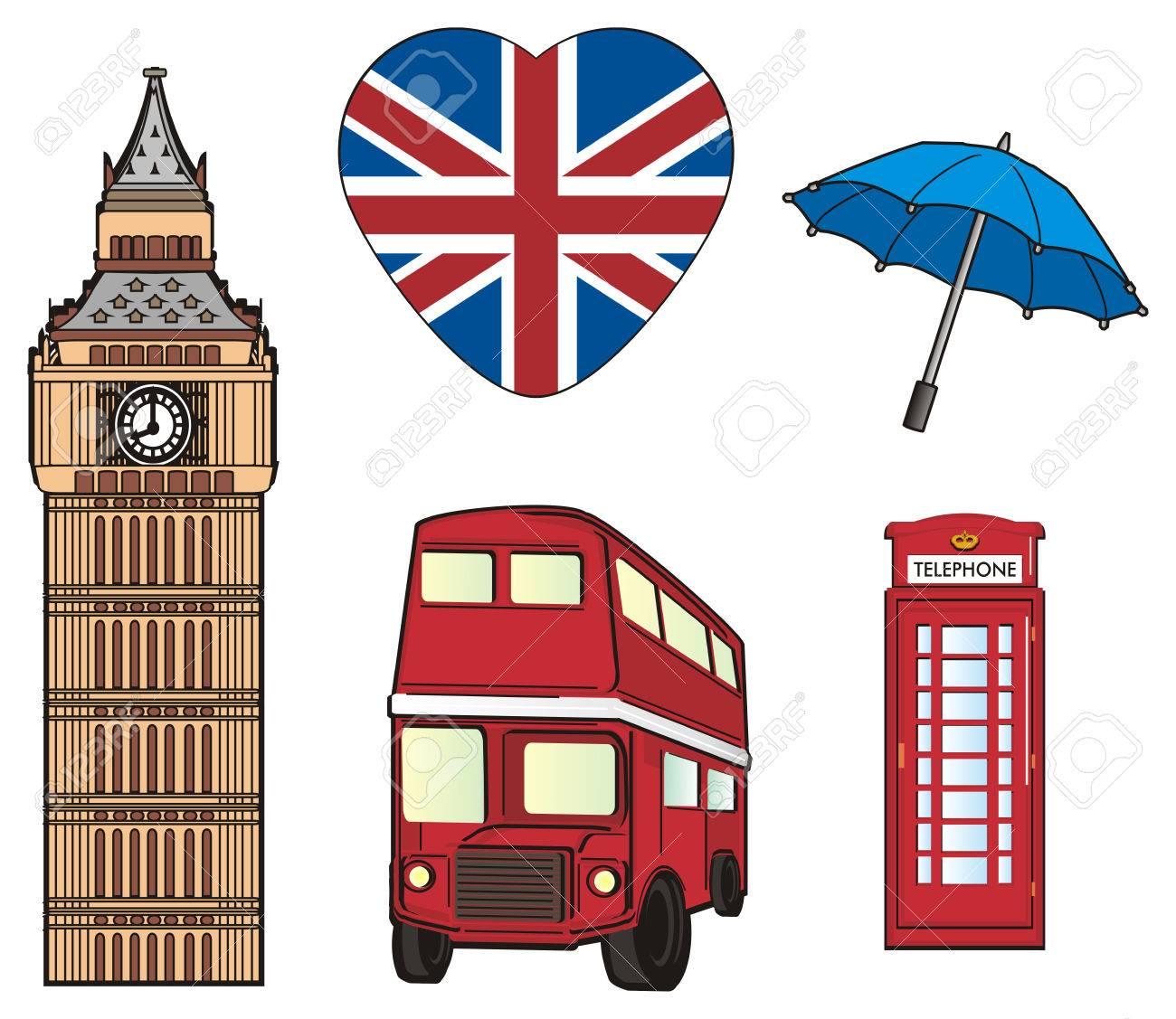 Five symbols of london city stock photo picture and royalty free five symbols of london city stock photo 78667360 buycottarizona Images