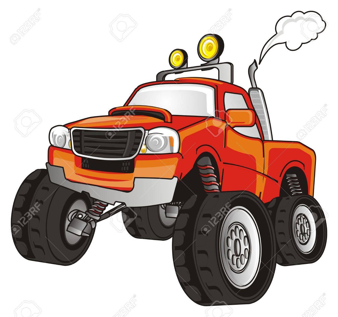 Großer Monster Truck Lizenzfreie Fotos, Bilder Und Stock Fotografie ...