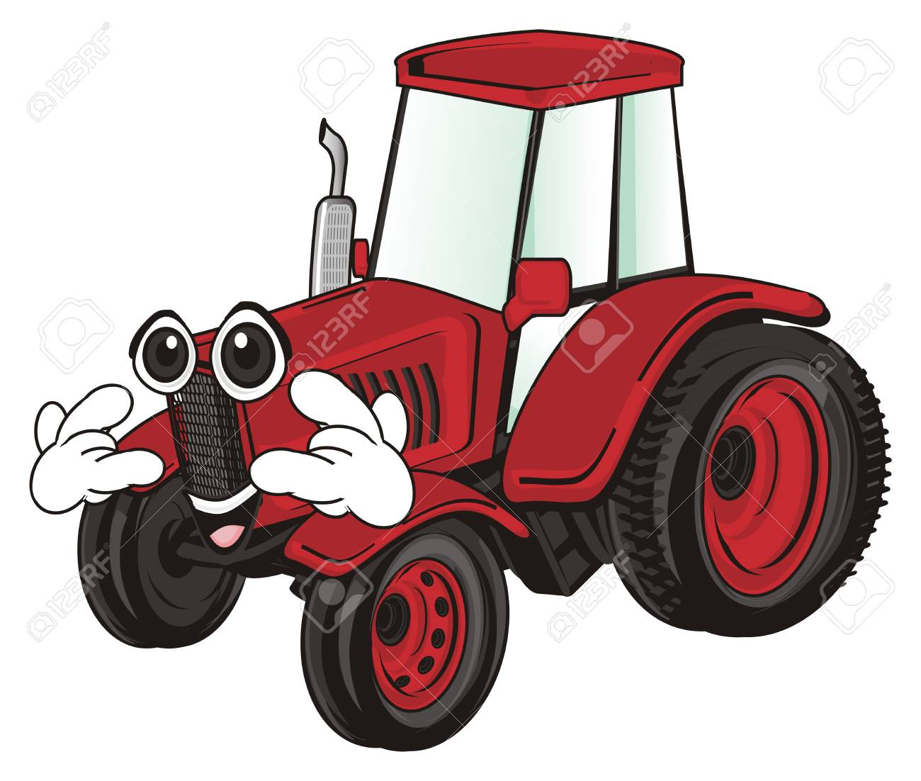 90083698 funny tractor - Download funny tractor photos