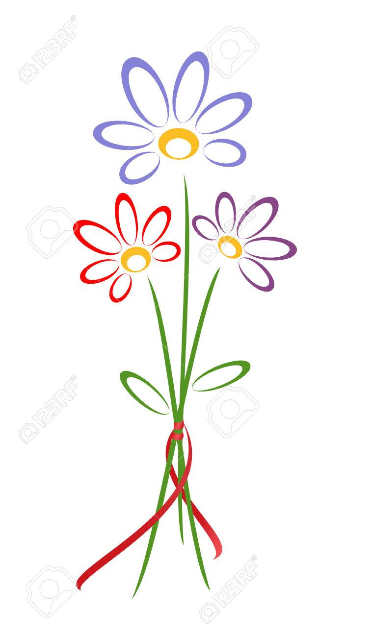 small bunch of flowers vector illustration royalty free cliparts rh 123rf com small bunch of flowers tattoo small bunch of flowers brisbane