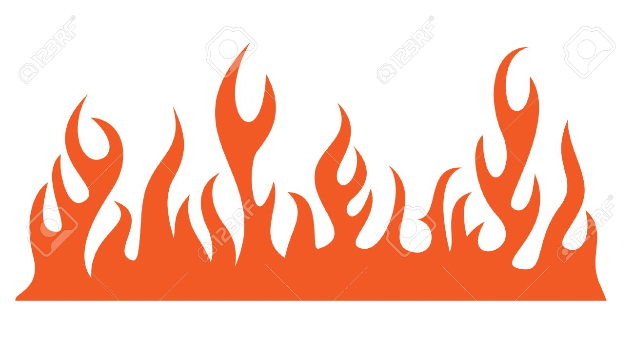 silhouette of burning fire flame vector illustration royalty free rh 123rf com vector flames for a v-rod vector flame
