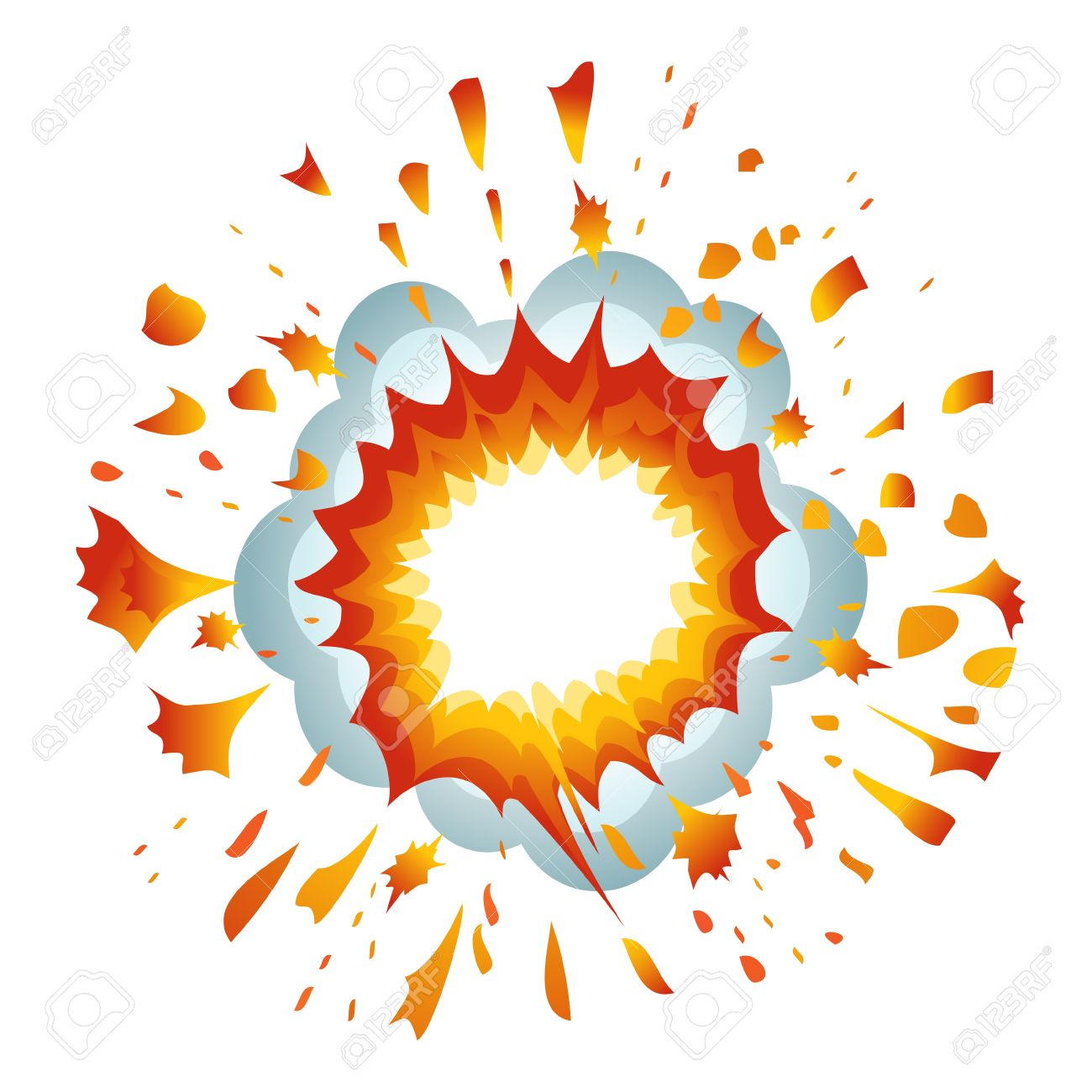 explosion vector illustration royalty free cliparts vectors and stock illustration image 11882370 explosion vector illustration