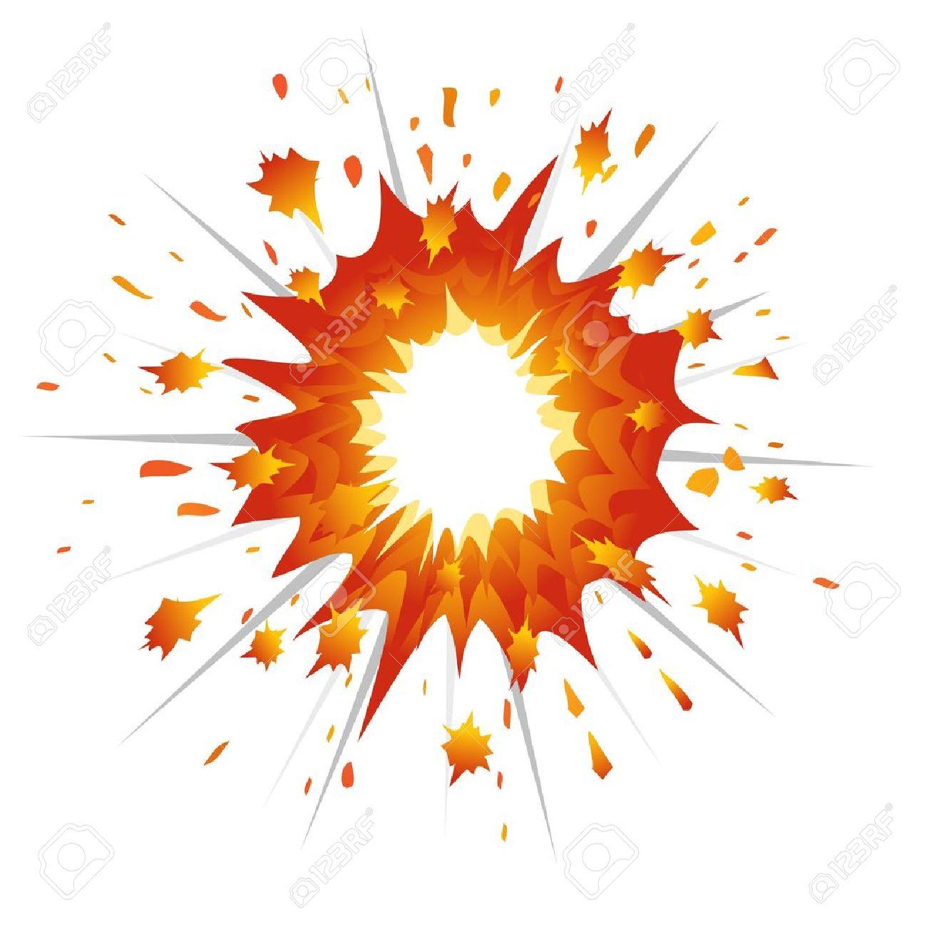 Explosion. Vector-Illustration Stock Vector - 11882377