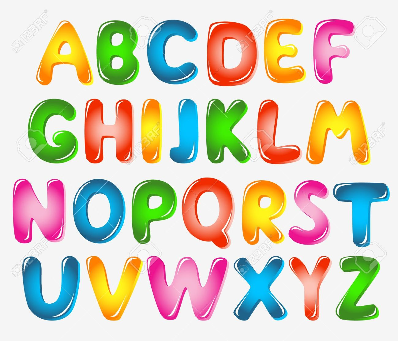 Alphabet Letters Royalty Free Cliparts, Vectors, And Stock ...