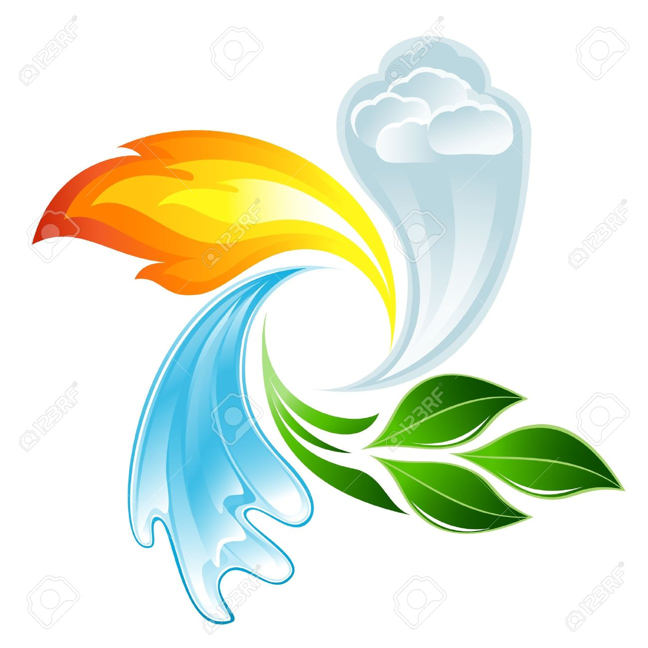 The four elements of life - 12928304
