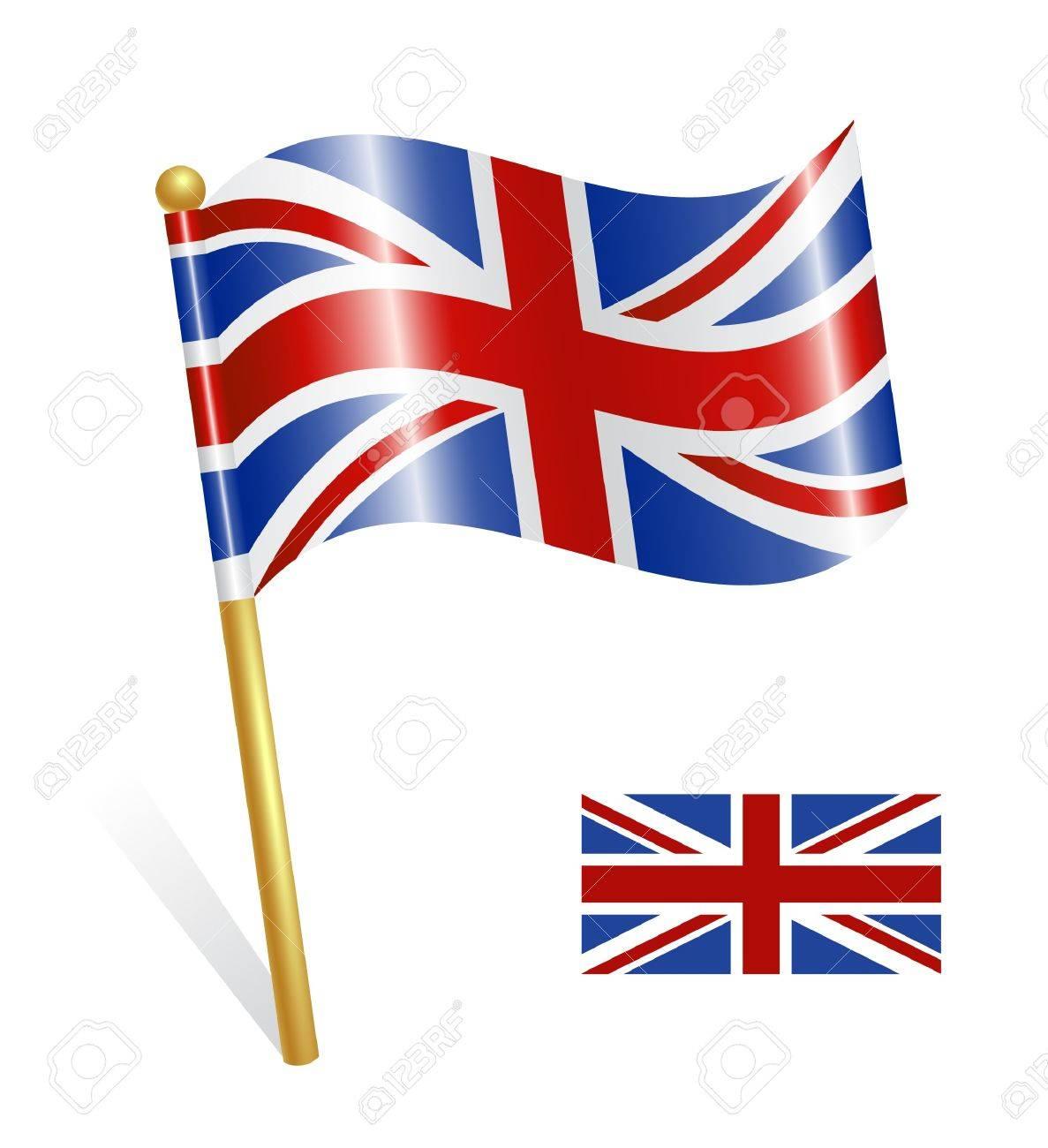 País Bandera Del Reino Unido Ilustraciones Vectoriales Clip Art