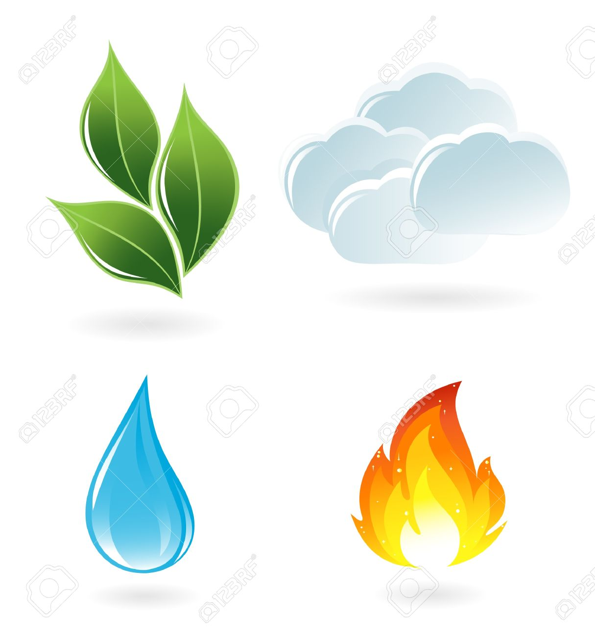 The four elements of life - 13216184