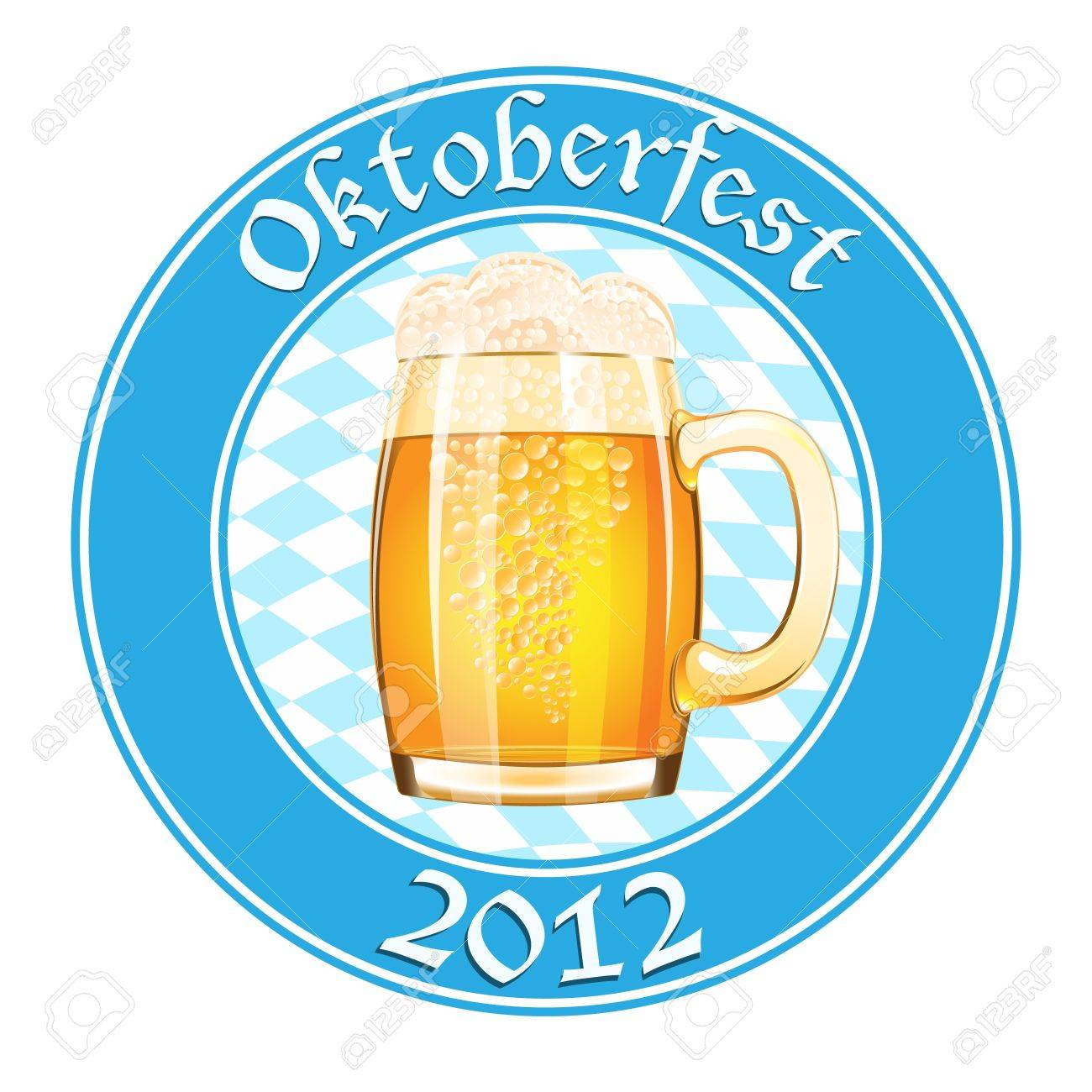 Oktoberfest banner with beer mug Stock Vector - 14794273