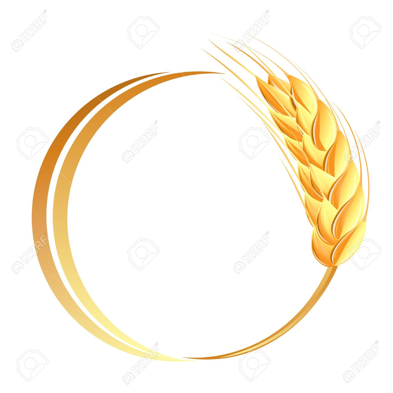 21,966 Wheat Grain Stock Vector Illustration And Royalty Free ...