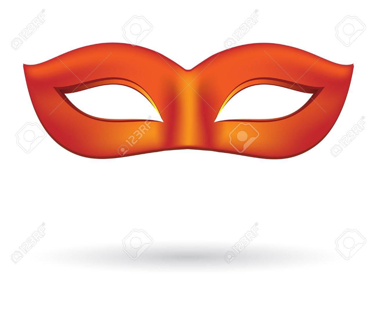 Carnival masks in red Stock Vector - 17481610