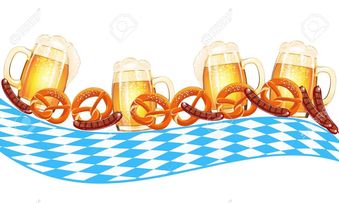 3,897 Oktoberfest Food Stock Vector Illustration And Royalty Free ...