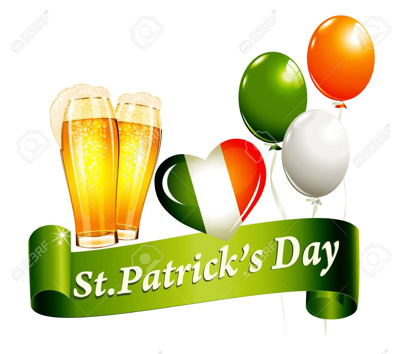 St.Patrick's Day banner Stock Vector - 24538919