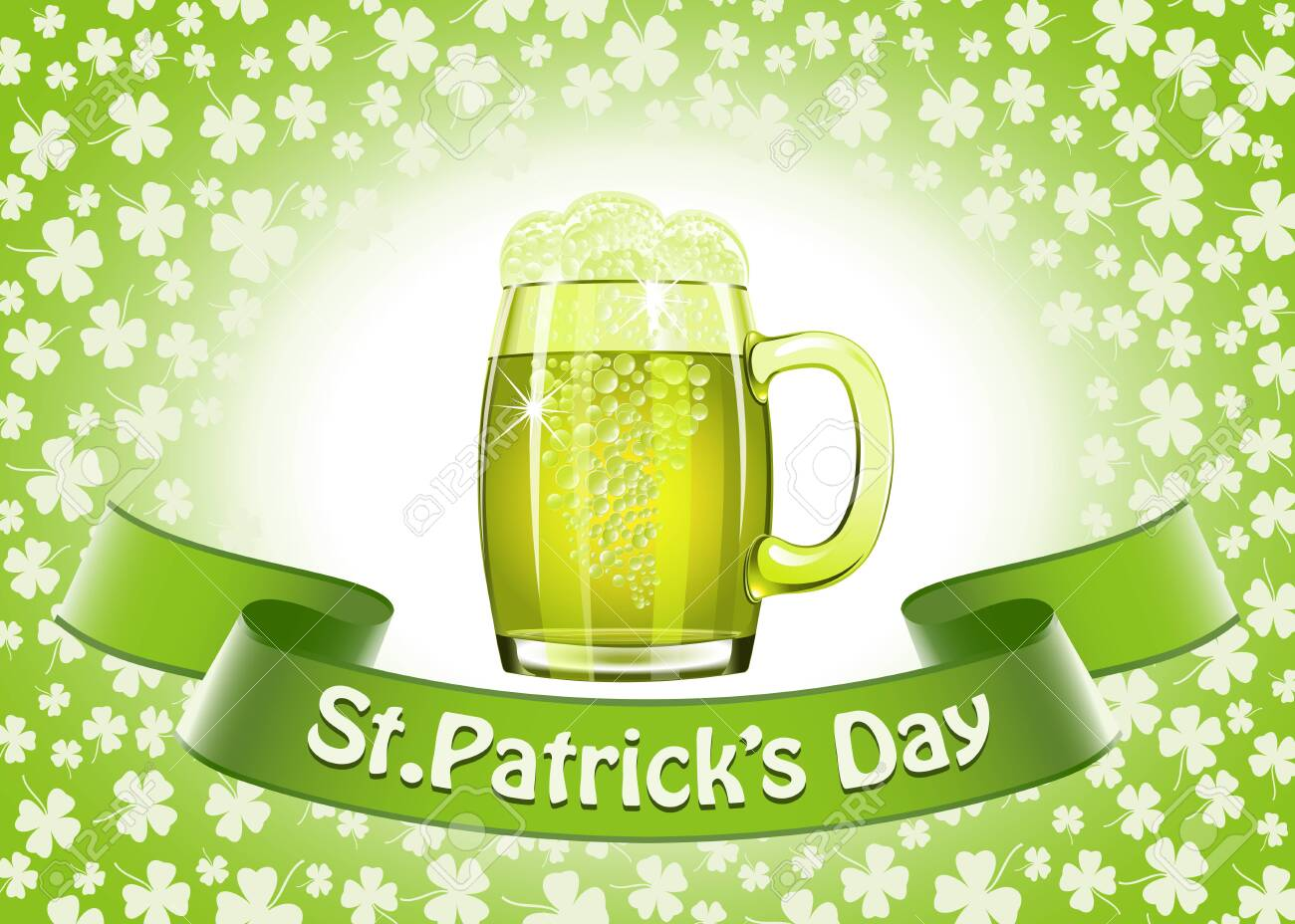 Saint Patrick's Day banner Stock Vector - 26539481