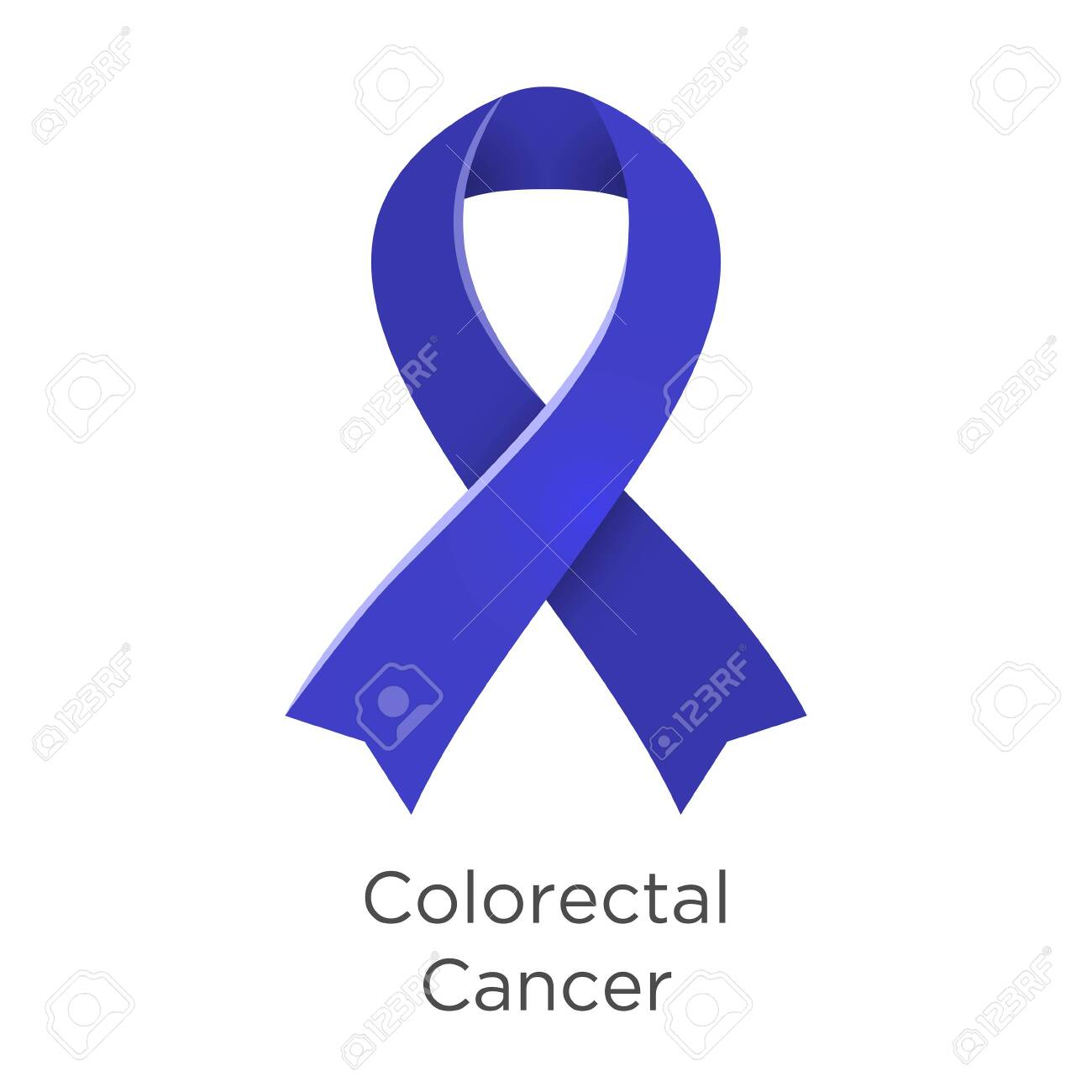 Colorectal Cancer Crc Awareness Month In March Also Known As Royalty Free Cliparts Vectors And Stock Illustration Image 122107053