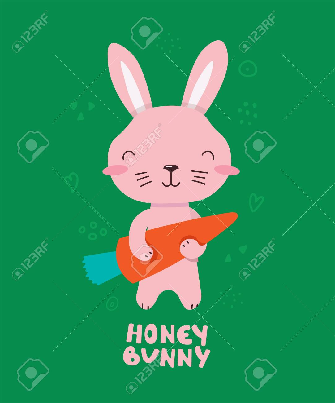 Honey bunny cartoon