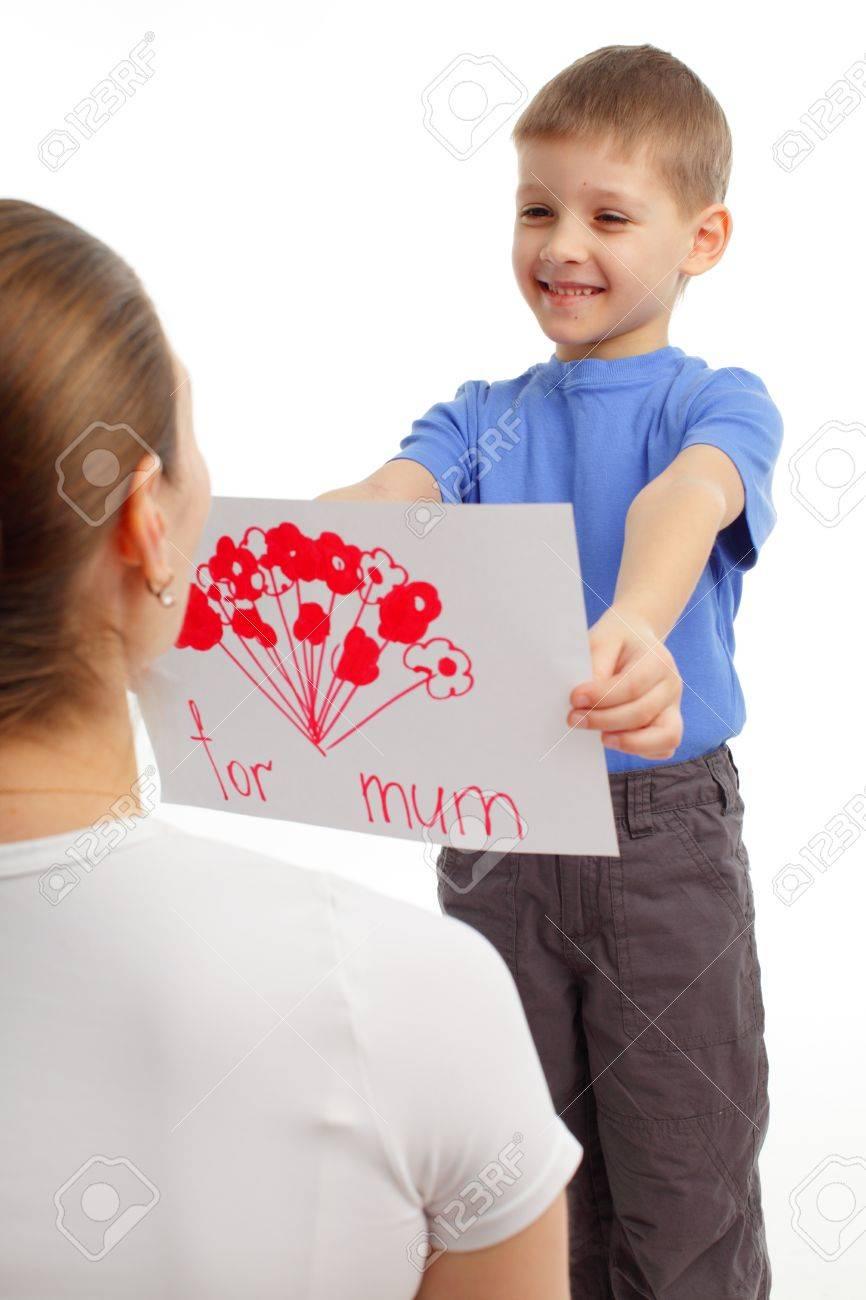 Рисованные картинки сын и мама 24 фотография