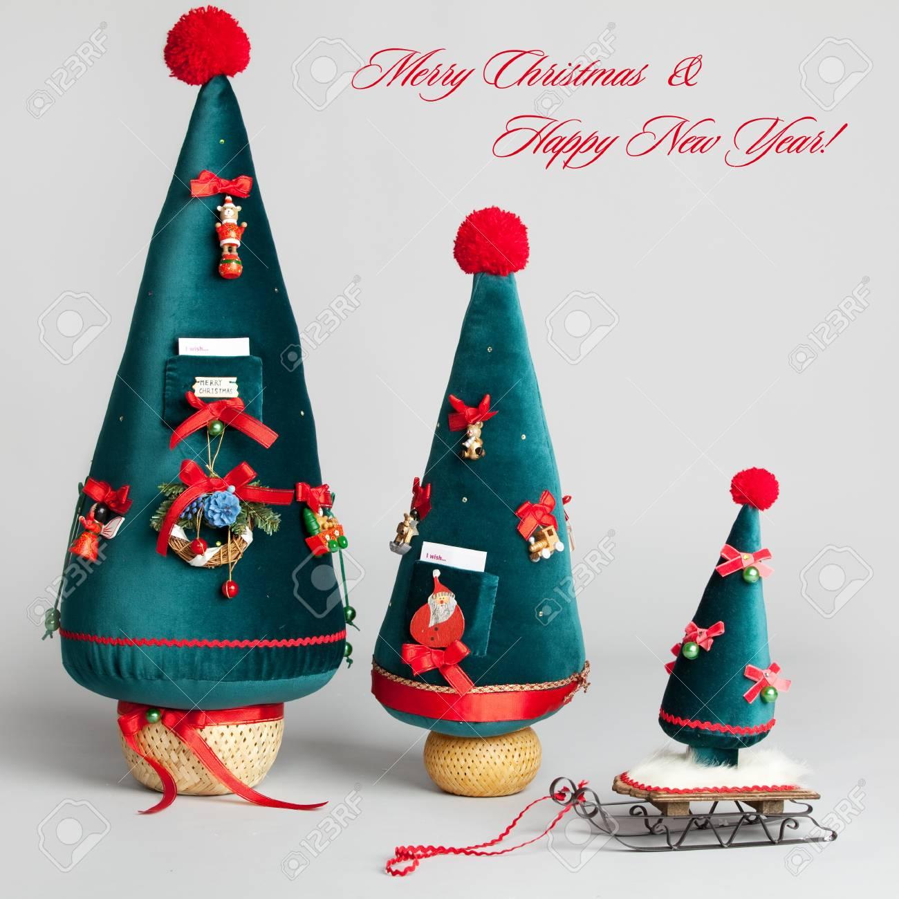 Christmas tree. Christmas Card Stock Photo - 15530119