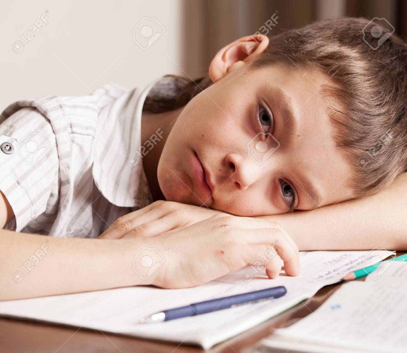 8yo daughter cries over homework constantly