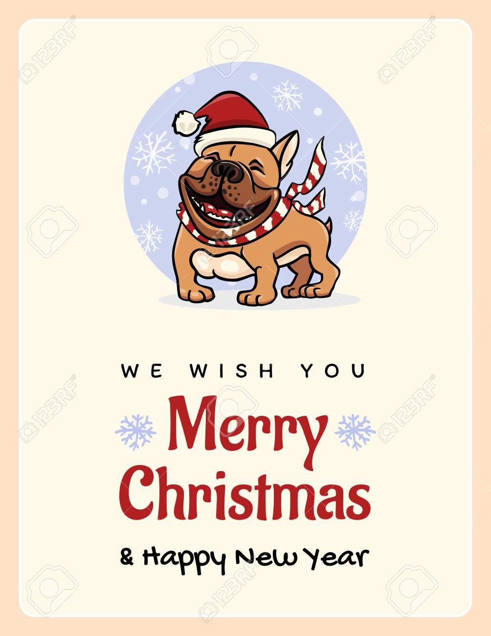 Grußkarte Wir Wünschen Ihnen Eine Frohe Weihnachten Und Ein ...