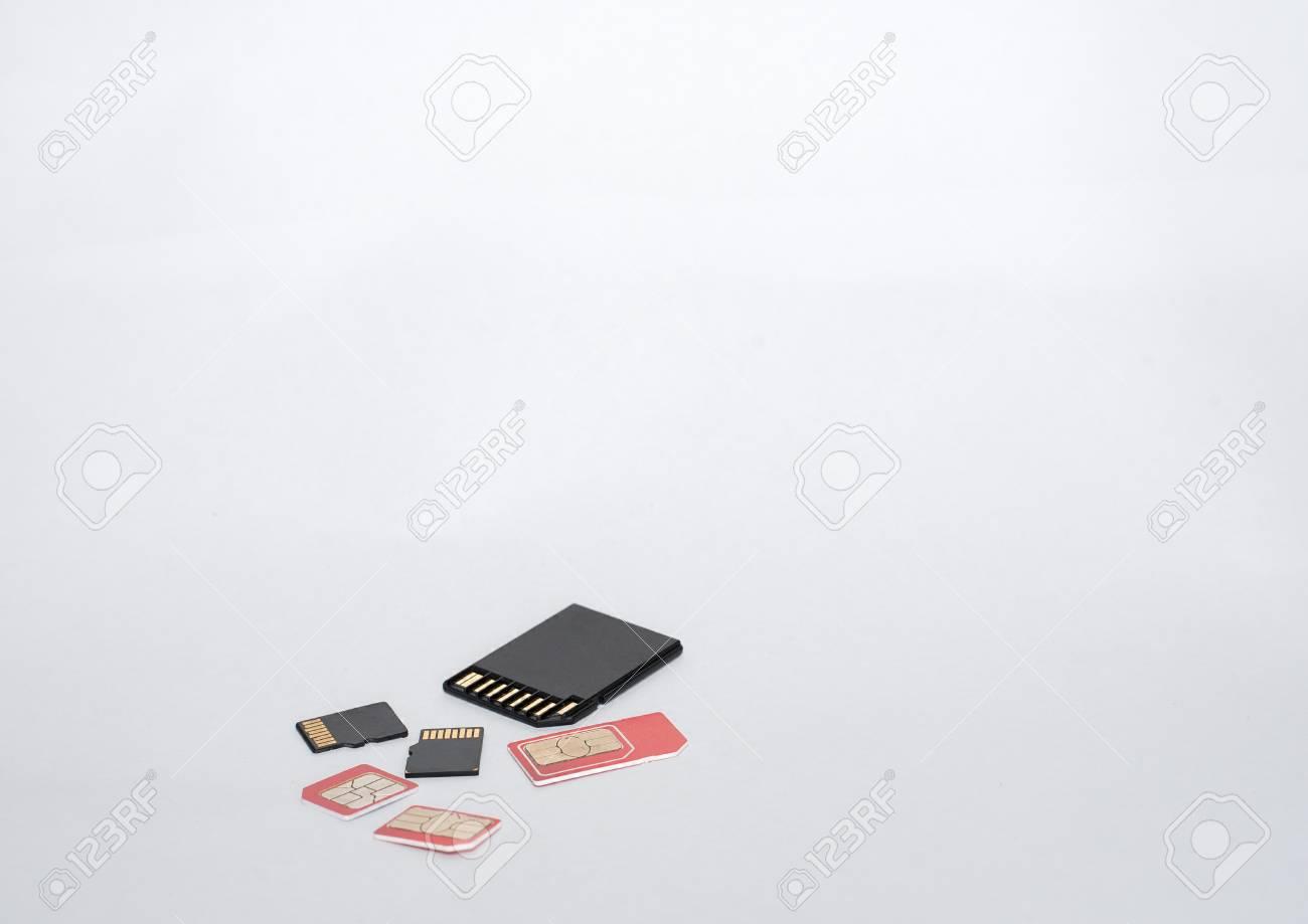 Sim Karte Für Tablet.Stock Photo