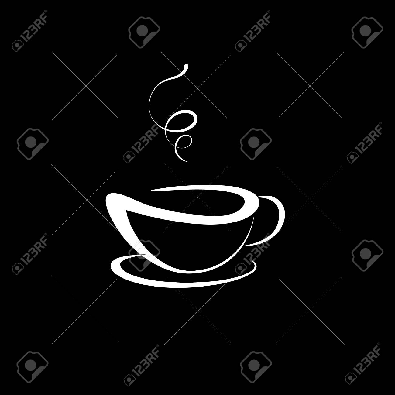 coffee or tea cup vector illustration coffee icon white cup royalty free cliparts vectors and stock illustration image 70980038 coffee or tea cup vector illustration coffee icon white cup