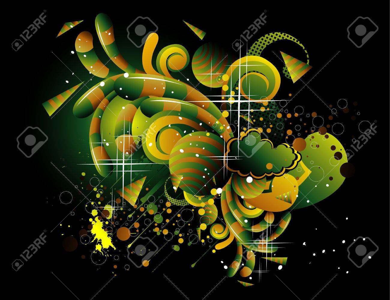 vector background illustration Stock Vector - 6185008