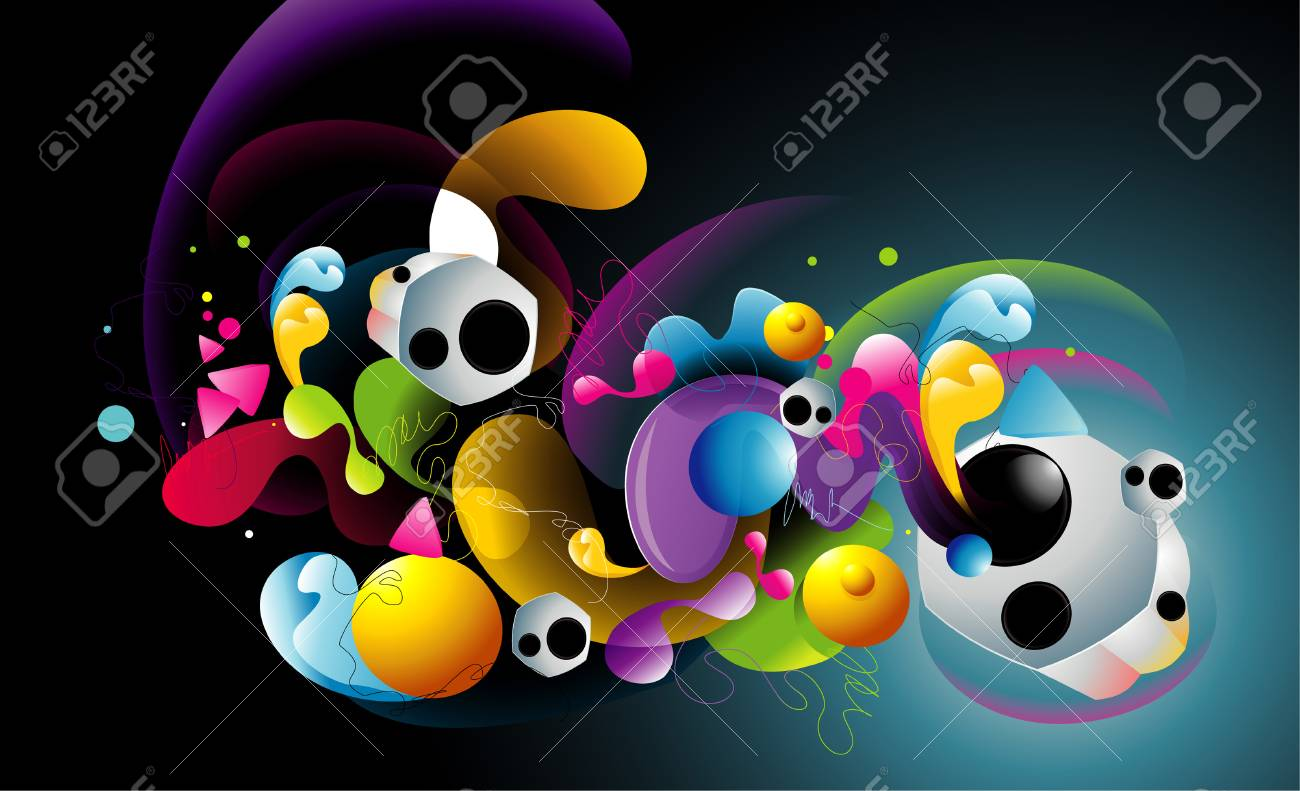 abstract background illustration Stock Vector - 8647104