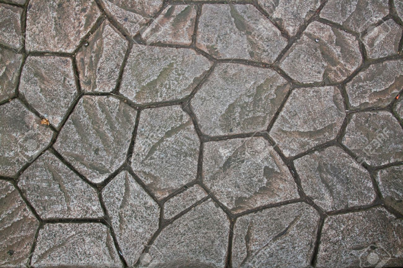 Natural Rock Paving Tiles Stock Photo Picture And Royalty Free