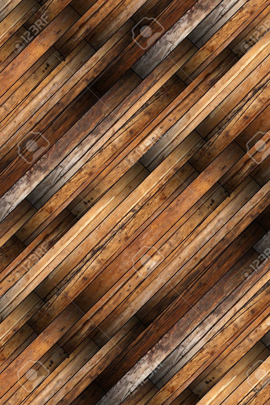 detailed old mahogany parquet installed in diagonal Stock Photo - 23893254